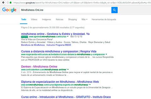 Resultados búsqueda orgánica para Centro Denken